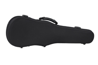 Winter Brand Shaped Black Violin Case