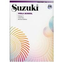 Revised - Suzuki Viola School Volume 5: Book and CD