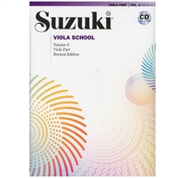 Revised - Suzuki Viola School Volume 6: Book and CD