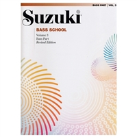Revised- Suzuki Bass School: Volume 3: Bass Part