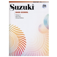 Revised- Suzuki BASS School: Bass Part & CD Volume 3