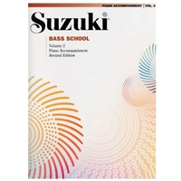Revised- Suzuki Bass: Volume 2: Piano Accompaniment