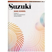 Revised- Suzuki Bass: Volume 3: Piano Accompaniment