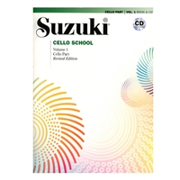 Revised- Suzuki Cello School: Volume 1: Cello Part and CD