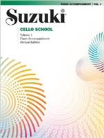 Revised- Suzuki Cello School: Volume 1: Piano Accompaniment