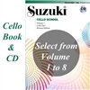 Suzuki Cello School: Volume: COMBO Cello Part and CD-Revised