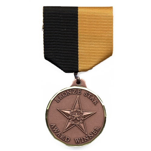 Bronze Star Award Medal