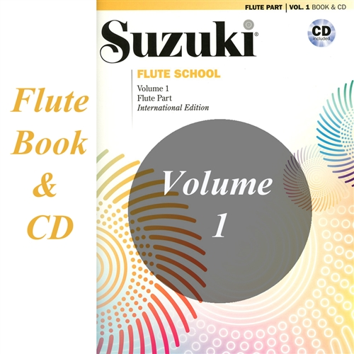 Suzuki Flute Part & CD Volume 1  International Edition