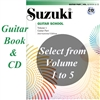 Revised- Suzuki Guitar School COMBO Guitar Part and CD