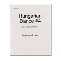 Hungarian Dance No.4 - Brahms / Michael McLean