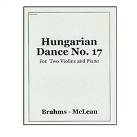 Hungarian Dance No.17 - Brahms / Michael McLean