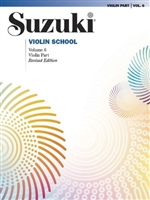 Suzuki Violin School Book Six Violin Part