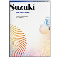 Suzuki Violin School: Volume 1: Piano Accompaniment-Revised