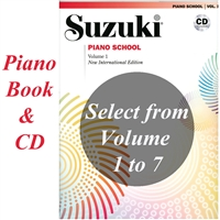 Suzuki Piano School: Volume: COMBO New International Edition with CD