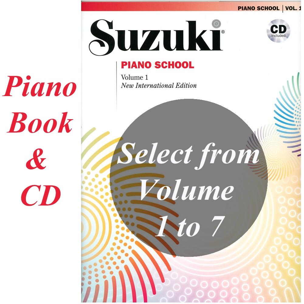 Suzuki Piano School Volume 3 Book Learn How to Play Music Method