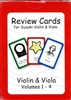 Review Cards for Suzuki Violin & Viola (Deck of Cards)