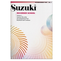 Suzuki Recorder School: Volume 1: Soprano Recorder Part