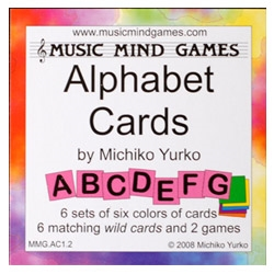 Alphabet Cards with Wild Cards