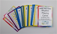Rhythm Playing Cards - Music Mind Games