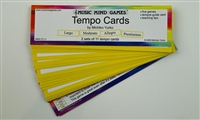 Tempo Cards- Music Mind Games