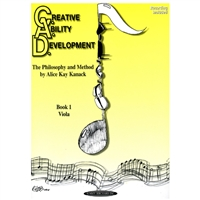 OLD COVER Creative Ability Development for Viola, Book 1- Alice Kay Kanack