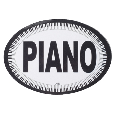 Oval Magnet Piano