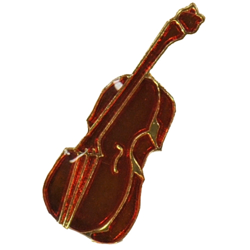 Cello Mini Award Pin