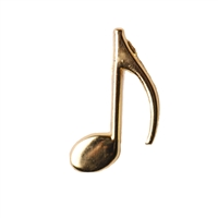 Eighth Note Award Pin