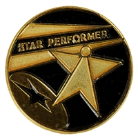 Star Performer Award Pin