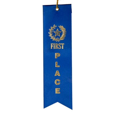 1st Place Ribbon- Blue