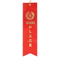 2nd Place Ribbon- Red