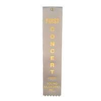First Concert Ribbon (5 Pack)