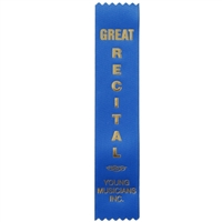 Great Recital Ribbon