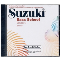 Revised- Suzuki Bass School: Volume 1
