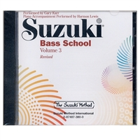 Revised- Suzuki Bass School: Volume 3