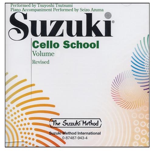 Suzuki Cello School Volume Cd Revised