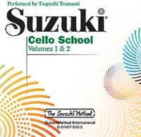 Revised- Suzuki Cello School: Volume 1 & 2: CD