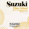 Suzuki Flute School: Piano Accompaniments CD