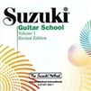 Revised- Suzuki Guitar School CD
