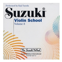 Koji Toyoda: Suzuki Violin School: Volume 8: CD