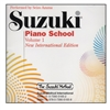 Suzuki Piano School: Volume: New International Edition CD