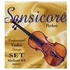 Super-Sensitive Sensicore Perlon Violin String Set