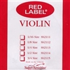 Super Sensitive Red Label Violin A String Steel