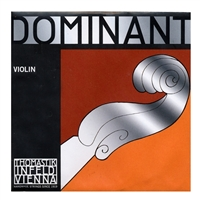 Thomastik Dominant Violin String Set (With Solid Steel E)