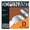 Thomastik Dominant Violin D String, Silver Wound