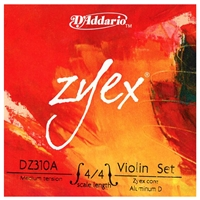 D'Addario Zyex Violin String Set