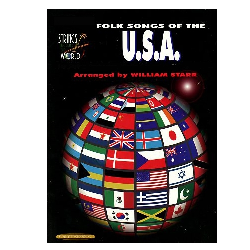 Folk Songs of U.S.A for String Orchestra or String Quartet for Cello