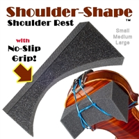 SHOULDER-SHAPE (TM) shoulder rest