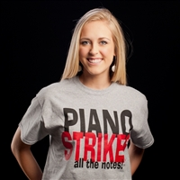 Piano Strikes all the notes T Shirt
