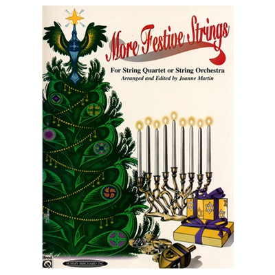 MORE Festive Strings - String Quartet - 3rd Violin (Christmas)